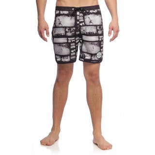 Matix Men's Then and Now Photo Print Boardshorts