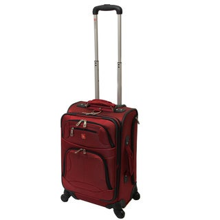 Wenger Swiss Gear Zurich 20-inch Expandable Carry On Spinner Upright Suitcase