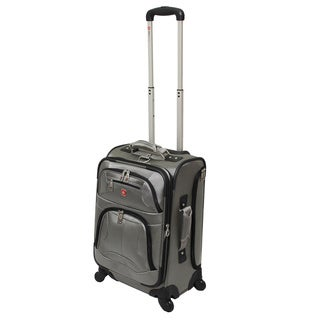 Wenger Swiss Gear Zurich 20-inch Expandable Spinner Carry-on Upright Suitcase