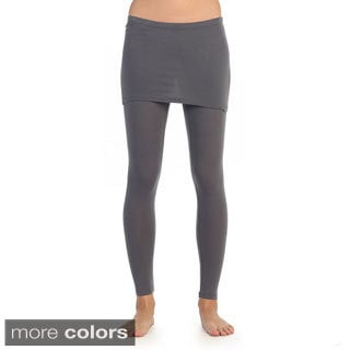Hadari Women's Active Skirted Leggings