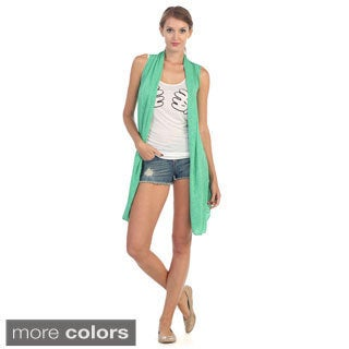 Hadari Women's Everyday Sleeveless Cardigan