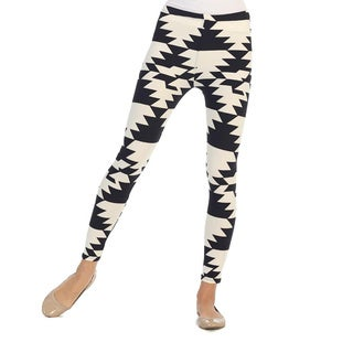 Hadari Women's Geometric Print Leggings