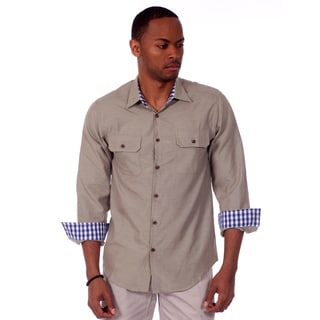 Jordan Jasper Men's Slim Fit Chambray Shirt