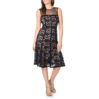 R & M Richards Women's Lace Dress