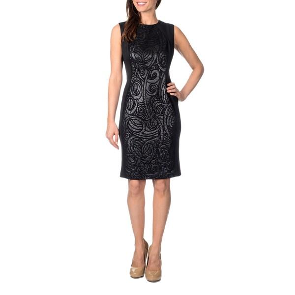 R & M Richards Women's Little Black Dress