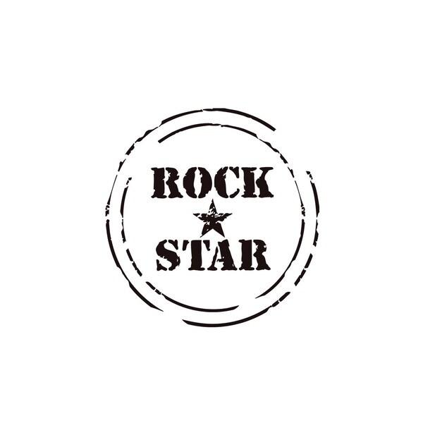 Rock Star Music Vinyl Wall Art