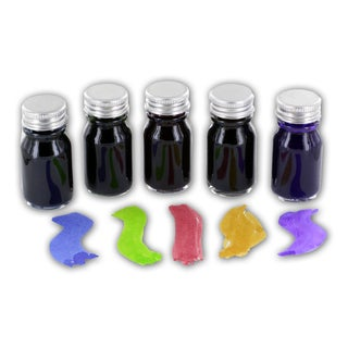 J. Herbin Scented Ink Sample Bottles 10 ml Assorted Scents, Pack of 5 (H120-02)