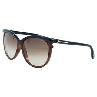 Tom Ford Women's FT0296 Josephine 05F Brown Burgundy Sunglasses