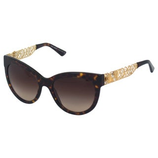 Dolce & Gabbana Women's DG 4211 502/13 Havana Sunglasses