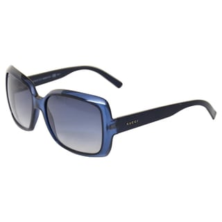 Gucci Women's 'GG 3207/S 84IJJ' Blue Opal Sunglasses
