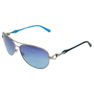 Juicy Couture Women's 'Deco/S 06LBTQ' Aviator Sunglasses