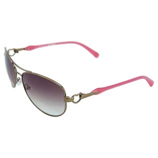 Juicy Couture Women's 'Deco/S 0EQ6YY' Aviator Sunglasses