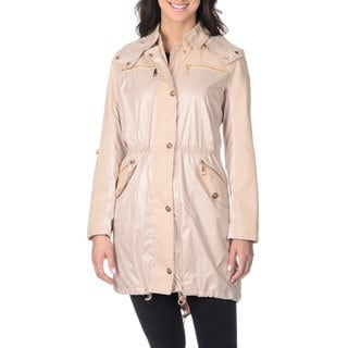 Vince Camuto Women's Nude Hooded Anorak