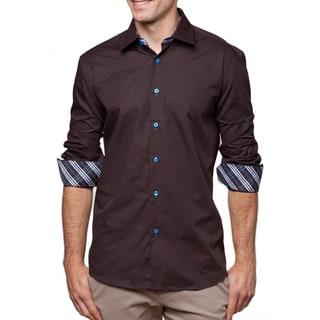 Men's Belvedere Cotton Button Front Shirt