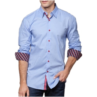 Men's Roma Lucci Cotton Button-front Shirt