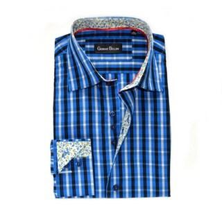 Men's Turchino Torre Cotton Button Front Shirt