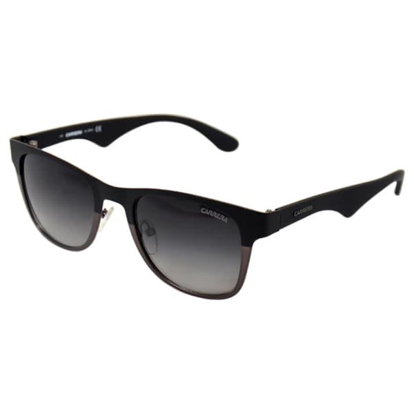 Carrera '6010/S 0UI90' Matte Black Retro Sunglasses