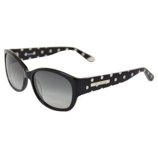 Juicy Couture Women's '551/S 0RE8 Y7' Black Polka Dotted Fashion Sunglasses