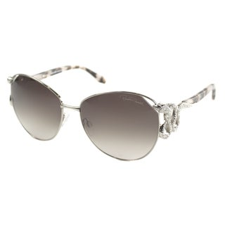 Roberto Cavalli Women's 'RC 897 Hatysa 34F' Shiny Light Bronze Fashion Sunglasses