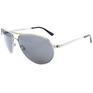 Tom Ford Men's 'TF144 Marko 14D' Ruthenium Polarized Aviator Sunglasses