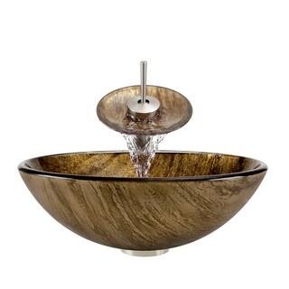 Polaris Sinks P236 Brushed Nickel Bathroom Ensemble