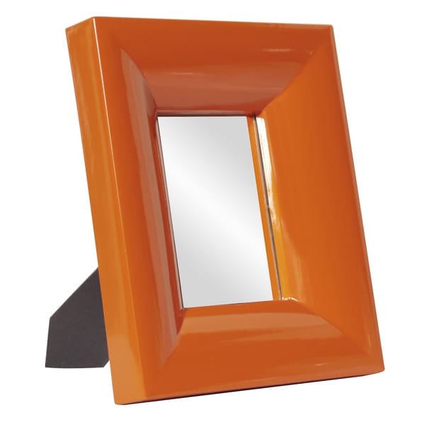 Medium Bright Orange Mirror