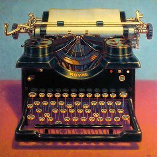 TR Colletta 'Writer's Block II' Canvas Art