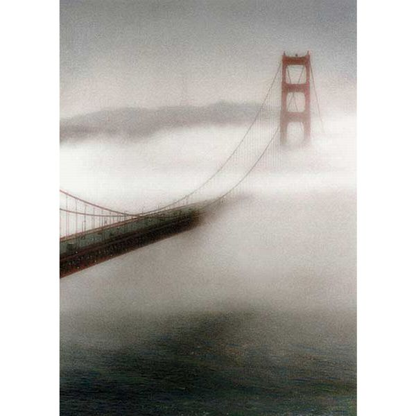 Laura Culver 'The Fog Comes In' Canvas Art
