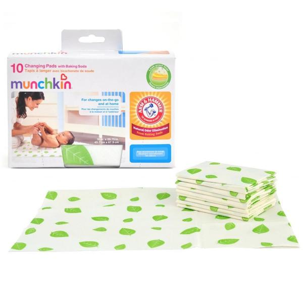Munchkin Arm & Hammer Disposable Changing Pads (Pack of 10)