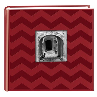 Pioneer Photo Albums 200-pocket Chevron Embossed Leatherette Album (2 Pack)