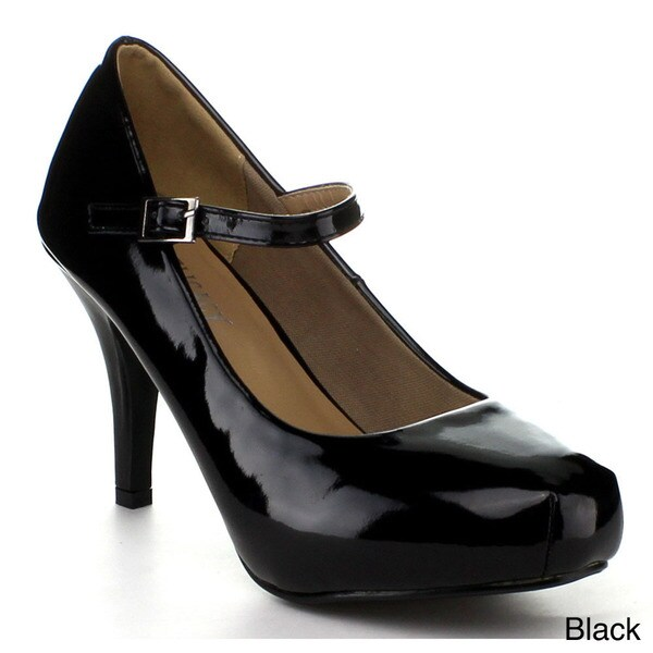 DELICACY CYNDI-91 Women's Mary Jane Dress Pumps