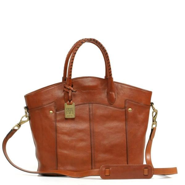 Frye Renee Leather Whiskey Tote