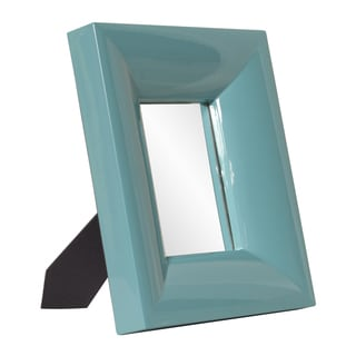 Medium Bright Teal Mirror
