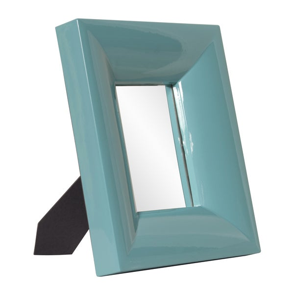 Medium Bright Teal Mirror