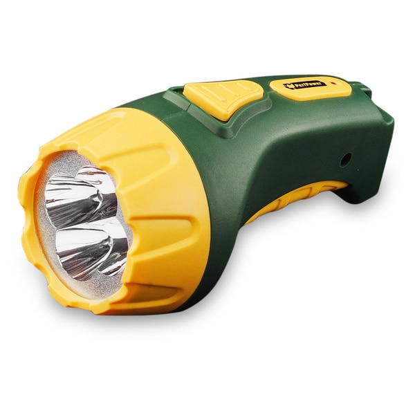 Go Green 4 LED Plug-in Rechargeable Flashlight