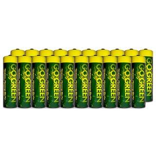 Go Green Heavy Duty AA Battery (20 Pack)