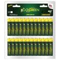 Go Green Alkaline AAA Battery (48 Pack)