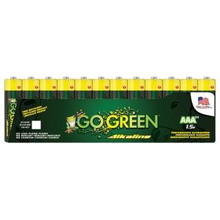 Go Green Alkaline AAA Battery (24 Pack)