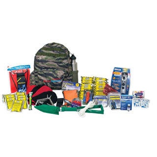 Ready America Emergency Deluxe Four Person Outdoor Survival Kit