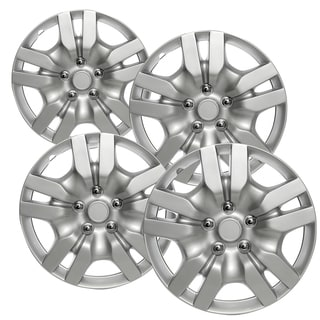 WCA 1036 16S Design Hub Cap ABS Silver 16-inch (Set of 4)
