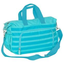 Everest Diaper Bag with Changing Station Aqua Blue