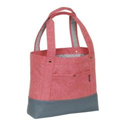 Everest Stylish Tablet Tote Bag Coral/Grey