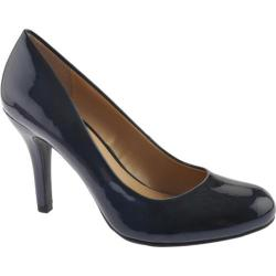 Women's Mootsies Tootsies Ideal Navy Patent Synthetic