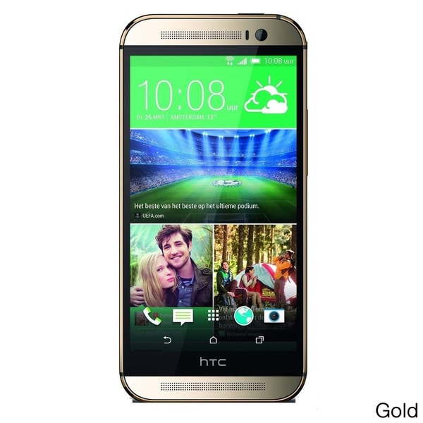 HTC One M8 32GB 4G LTE Unlocked GSM Gold AT&T Version Android Cell Phone