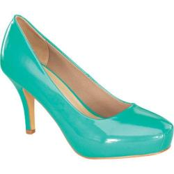 Women's Wild Diva Cyndi-92 Mint Faux Leather