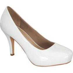 Women's Wild Diva Cyndi-92 White Faux Leather