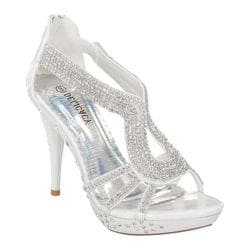 Women's Wild Diva Delicacy-06 White Faux Leather