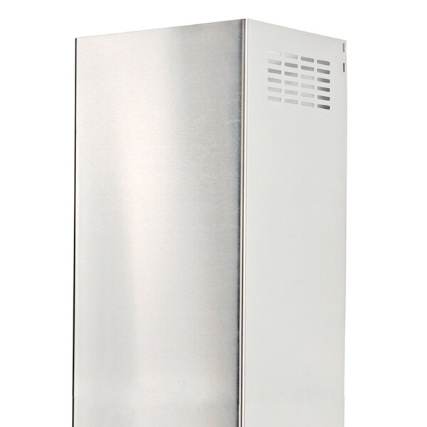 Cavaliere CCEL-B2/F 10-foot Wall Mount Chimney Extension