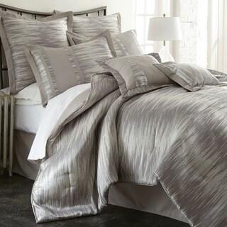 Morning Mist 8-piece Jacquard Comforter Set