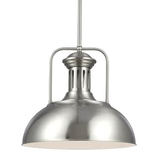Beacon Street Brushed Nickel One Light Pendant